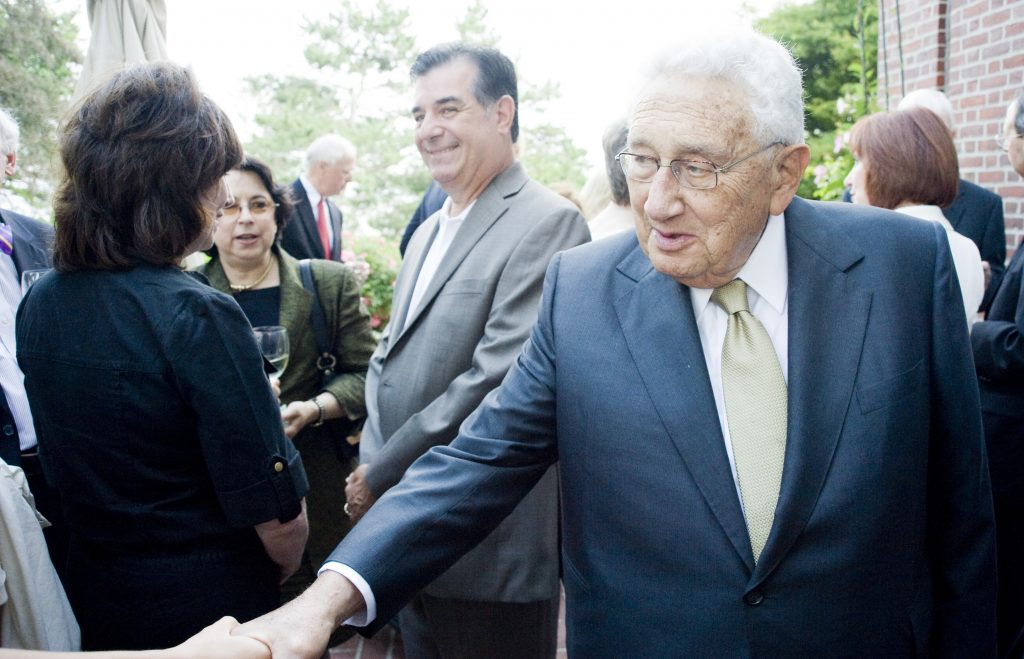 Nobel Prize winner and former Secretary of State Henry Kissinger